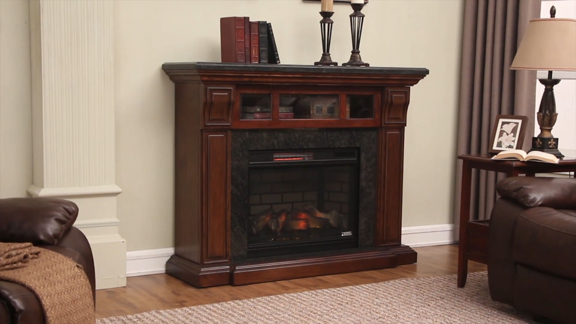 fireplace buy page front collections beautiful by electric insert side realistic fireplaces menards most