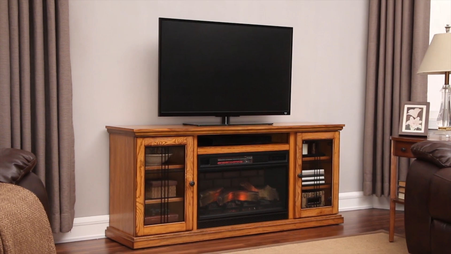 heater inserts tv insert electric x faux fireplace com thelazercast stand fireplaces menards