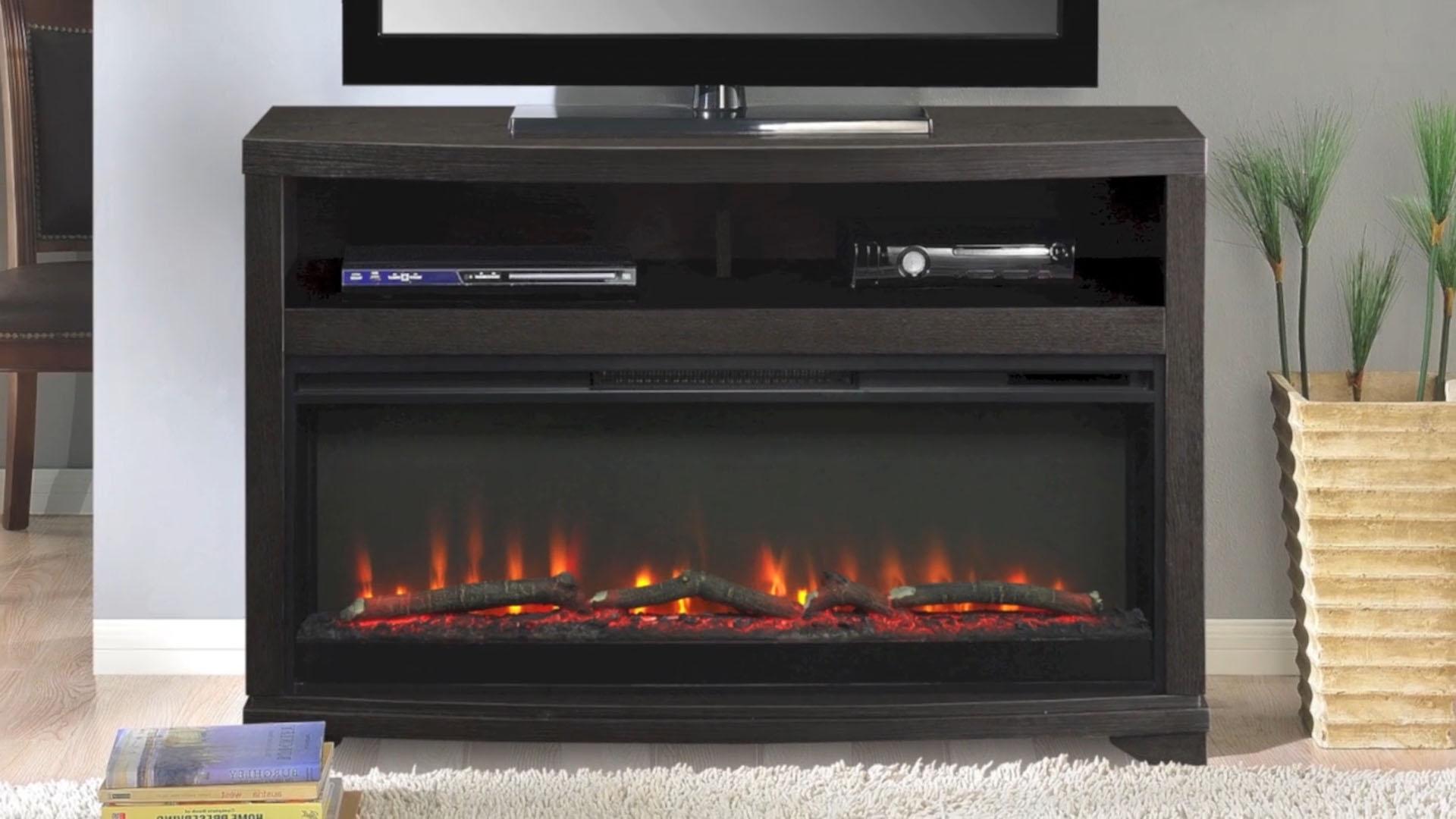 muskoka alton electric fireplace and media mantel at menards