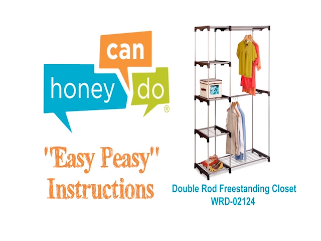 Honey Can Do Freestanding Closet At Menards