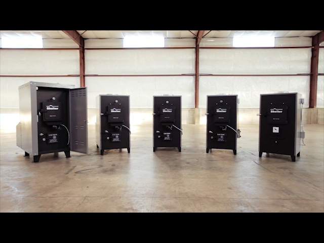 Shelter SF2631 Indoor Wood and Coal Furnace (2,500-3,500 sq. ft.) at Menards ® - Shelter SF2631 Indoor Wood And Coal Furnace (2,500-3,500 Sq. Ft