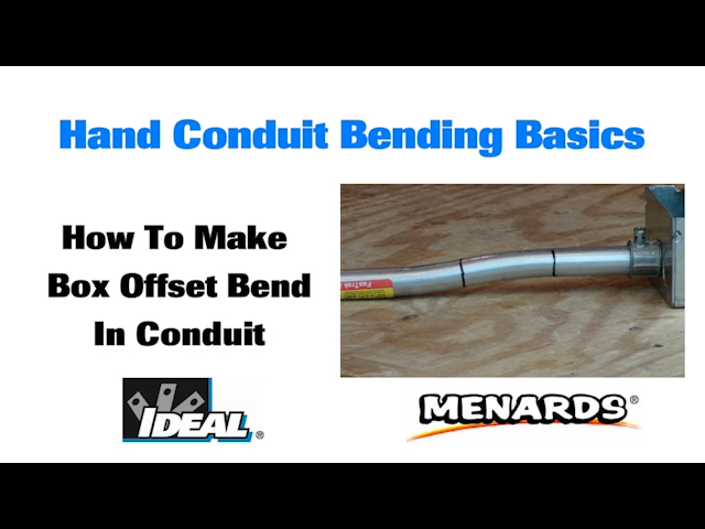 ideal ductiile iron 1 in bender head and handle at menards rh menards com new ideal conduit bending guide ideal conduit bender guide