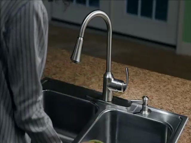 Moen® Torrance™ One Handle Kitchen Faucet At Menards®