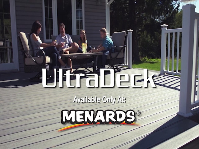 UltraDeck® Low-Maintenance Composite Decking & Railing at