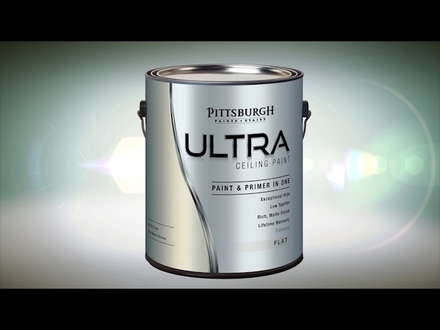 pittsburgh ultra white interior latex ceiling paint 1 gal at menards