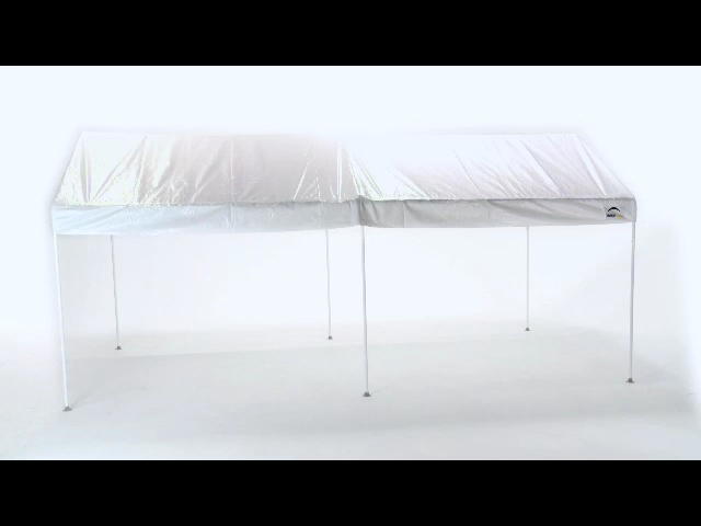 & ShelterLogic Max All-Purpose 10u0027 x 20u0027 Canopy 6-Leg White at Menards®