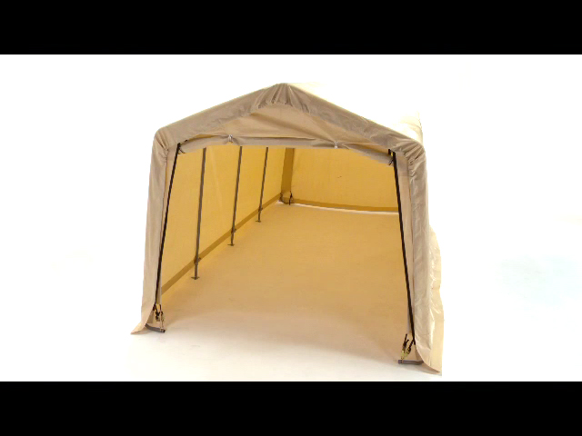 ShelterLogic AutoShelter 10u0027 x 20u0027 x 8u0027 Replacement Cover Kit Sandstone (for 32680 or 62680 frame styles) at Menards®  sc 1 st  Menards & ShelterLogic AutoShelter 10u0027 x 20u0027 x 8u0027 Replacement Cover Kit ...