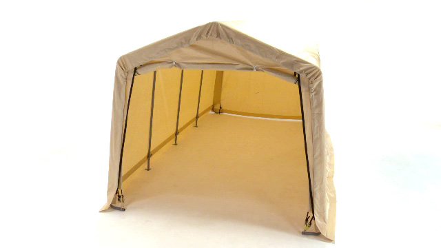 Pop Up Garage Tent & Robust And Waterproof Portable ...