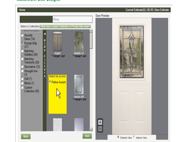Doors menards find this pin and more on distinctive for Mastercraft storm doors